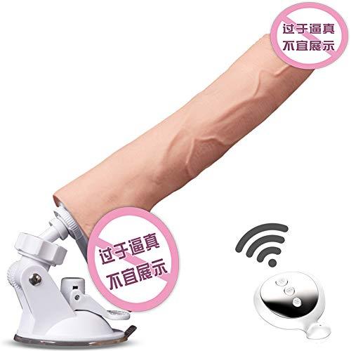 Personal care Vollautomatische Mute Zauberstab Requisiten, kabelloses Silikon wasserdichtes Spielzeug, 10 Frequenz vibrierender USB-Massagegerät, Rücken- / Schulter- / Körperfreigabedruck ZDDAB