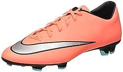 Nike Herren Mercurial Victory V FG Fußballschuhe, Orange (BRGHT MNG/MTLLC SLVR-HYPR TRQ MANGUE ECLATANTE/HYPER TURQ/AR), 44 EU