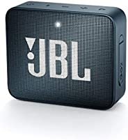 JBL Go 2 Portable Bluetooth Speaker, Slate Navy (JBLGo2Navy - Navy)