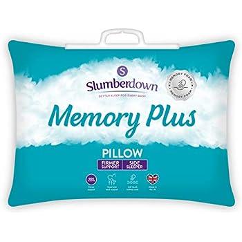 Slumberdown Memory Foam Plus Super Support Pillow Single