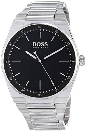 Hugo BOSS Unisex-Adult Analogue Classic Quartz Watch with Stainless Steel Strap 1513568