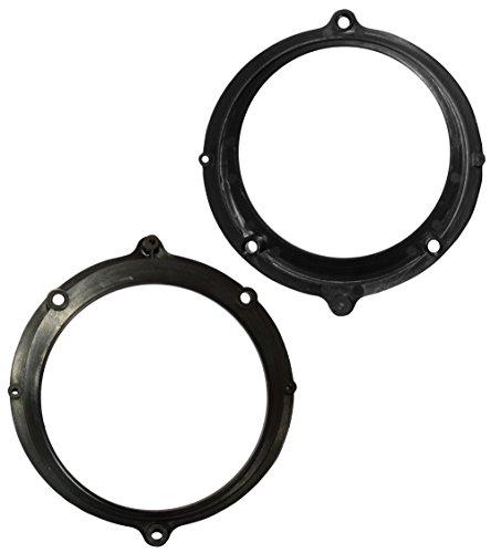 AERZETIX 2 adaptateurs Supports de Haut-parleurs Enceintes 130mm pour Auto Voiture C40950