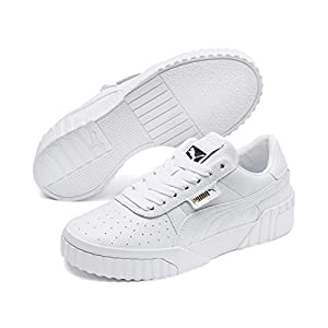Puma Women's Cali WN's Low-Top Sneakers, White (Puma White-Puma White 01), 6 UK