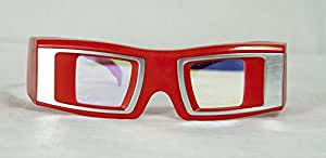 infitec Lunettes 3D Basic Excellence 120208avec Technologie infitec–Rouge/Argent