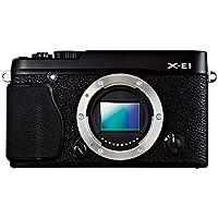 Fujifilm X-E1, Fotocamera Digitale 16 MP, Sensore CMOS X-Trans APS-C, Ottiche Intercambiabili, Mirino Ibrido, Colore (E1 Ibrida)