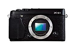 Fujifilm X-e1 Digital Camera Body Only - Black (16 Mp With Aps-c X-trans Cmos Sensor) 2.8 Inch Lcd