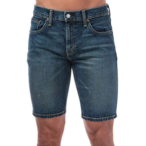 Levi's Hombre Pantalones cortos de mezclilla 511 Slim Hemmed Trippin, Azul, 31W