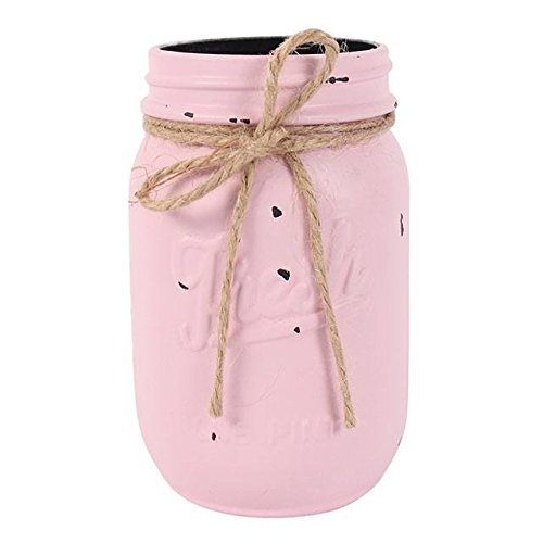 Mini Jam Jar-Perfekt für frische Blumen & tafelaufsätze Rose pink -