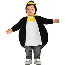 Atosa - Disfraz de pingüino para bebe, 12-24 meses  (111-26636)