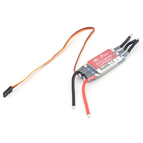 Water & Wood ZTW Brushless Spider OTPO 40A ESC Speed Controller for Multi-Rotor Helicopter