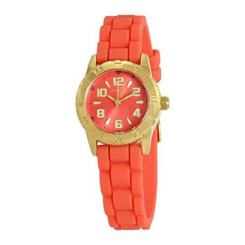 Guess Naranja Dial Damas Reloj w0584l1