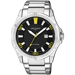 Vagary By Citizen VD0 - 013 - 51 - Watch, Stainless Steel Strap Grey