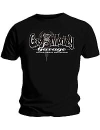 Gas Monkey Garage Official GMG T Shirt Logo Black Car 8 Hot Rod All Sizes