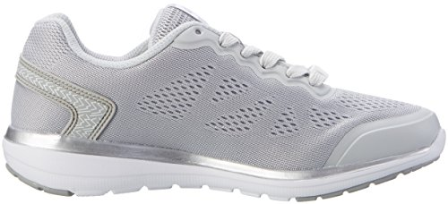 Lotto Sport Ariane Vi Amf W, Sneakers Basses Femme Gris (Gry Lun/slv Mt)