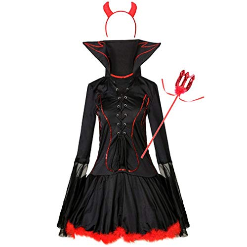 Shisky Halloween Vampir Dämon Kostüm Cosplay Uniform Dame Maskerade Party Leistung - 1 Jahr Alten Panda Kostüm