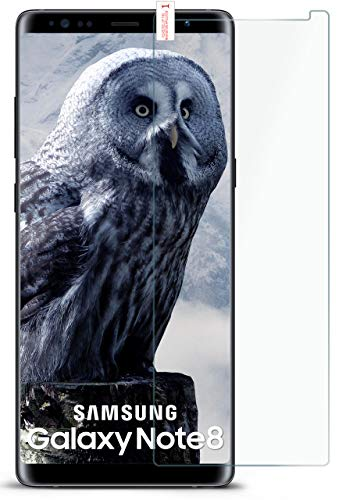 moex 9H Panzerfolie für Samsung Galaxy Note8 | Panzerglas Bildschirm Glasfolie [Tempered Glass] Screen Protector Glas Bildschirmschutz-Folie für Samsung Galaxy Note 8 Schutzfolie