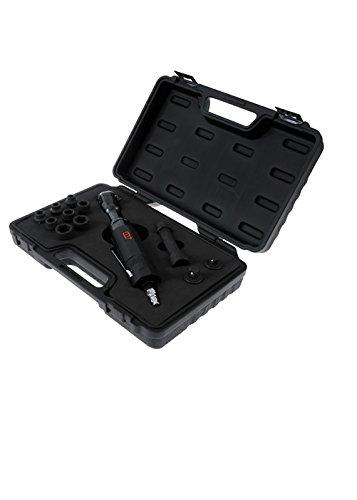 Preisvergleich Produktbild MIGHTY SEVEN NE0413 Ratschenschlüssel-Koffer inkl. Zubehör,  Reifen-Set,  13-teilig,  1 / 2 Zoll