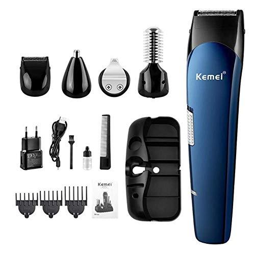 5-in-1 Männer wiederaufladbare Haarschneider, Rasiermesser Bart Rasiermaschine Ohr Nase Haarschneider Titan Haarschnitt Beauty Haarschneider -