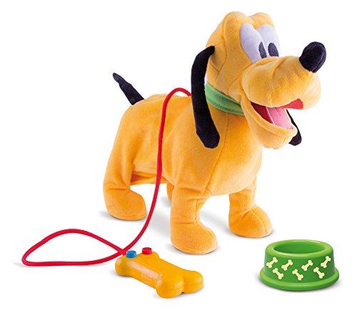 IMC Toys - Promène Pluto, peluche interactive sonore - 181243 - Disney
