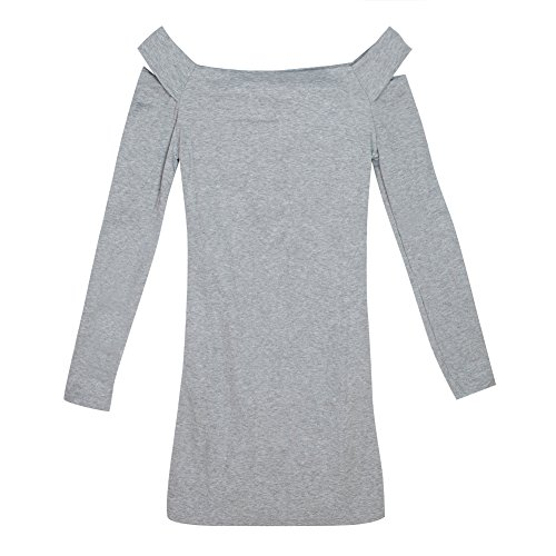 Eleery - Robe - Femme Beige bleu UK 12 Gris