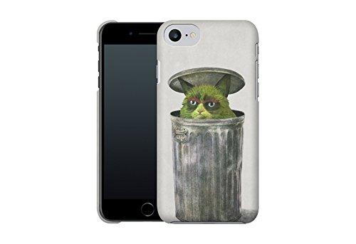 Handyhülle mit Tier-Design: iPhone 7 Hülle / aus recyceltem PET / robuste Schutzhülle / Stylisches & umweltfreundliches iPhone 7 Case - Apple iPhone 7 Schutzhülle: Blossom Bird von Terry Fan Grouchy Cat von Terry Fan