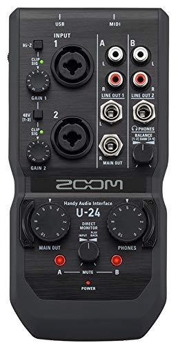 Zoom U di 24cassa audio interface (S1f)