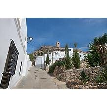 Níjar, cabo de Gata, Almeria, paellera (70640485), lona, 140 x 90 cm