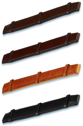 Stübben Genickpolster für Trensen- und Kandarenzaum - tobacco - Einheitsgröße