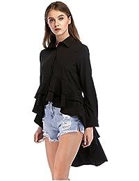 premium selection c996b 2ef59 Amazon.it: a coda - Bluse e camicie / T-shirt, top e bluse ...