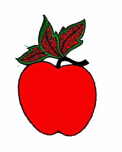 rabana niedliche Pretty Schöne Rad Apple Cartoon Kids Kinder Cute Animal Patch für Heimwerker-Applikation Eisen auf Patch T Shirt Patch Sew Iron on gesticktes Badge Schild Kostüm (Apple Gestickt)