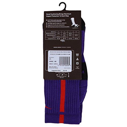 Nike - Polo, manica corta, uomo Purple w Red