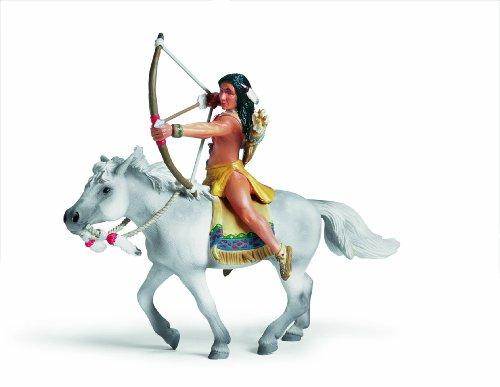 Schleich - 70301 - Figurine - Personnage - Sioux, Archer À Cheval