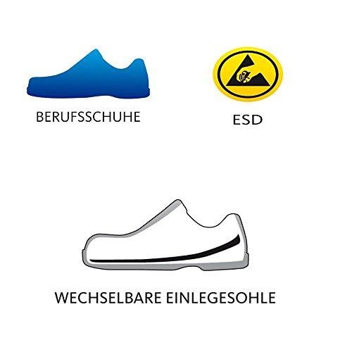 """Schürr Herren OP-Schuhe, perforierte Sandalen """"Cham"""" Weiß"""