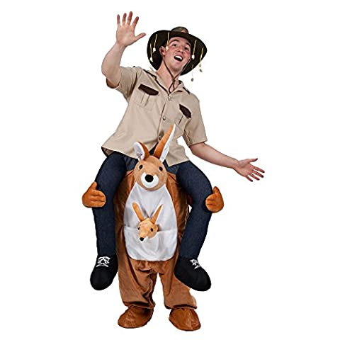 Unisex Mens Ladies Carry Me KANGAROO Costume for Mascot Fancy Dress Outfit by Partypackage Ltd