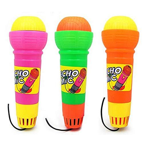 Ogquaton Wireless Girls Boys Microfono Mic Karaoke Singing Kids Giocattolo musicale regalo divertente - Colore casuale Pratico e popolare