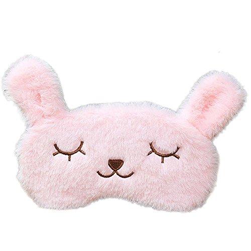 Schöne Schattierungen (Drawihi Schöne plüsch kaninchen augenmaske cartoon nap Schattierung Augenschutz nette augenmaske mit Eisbeutel Bettwäsche)