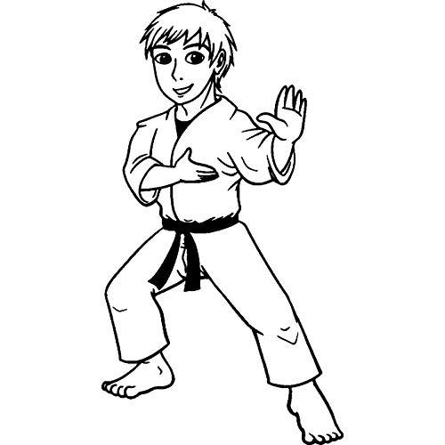 Azeeda A8 'Karate Junge' Stempel (Unmontiert) (RS00027397)