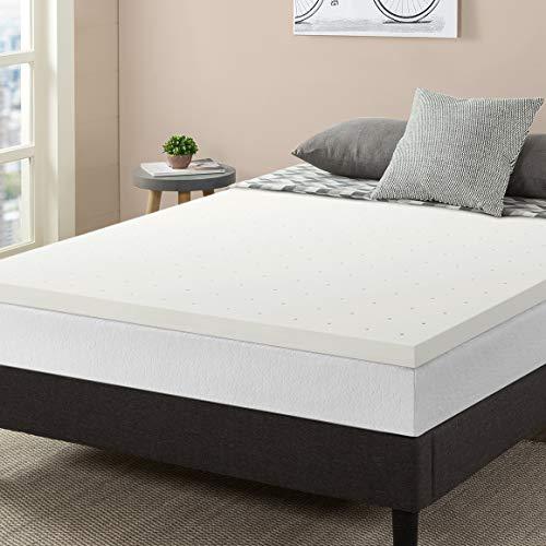 Besten Preis Matratze 5,1cm belüftet Memory Foam Matratzenauflage, Memory-Foam, weiß, Volle Größe