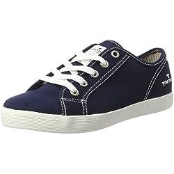 Tom Tailor Damen 279900330 Sneakers, Navy, 37 EU