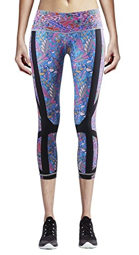 Zipravs Damen Women Yogahose Fitnesshose Capri Leggings Laufhosen XS/S/M/L/XL