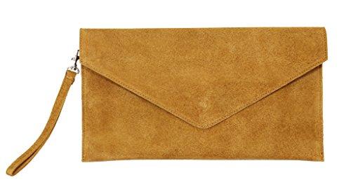 Big Handbag Shop, Borsetta da polso donna One Tan