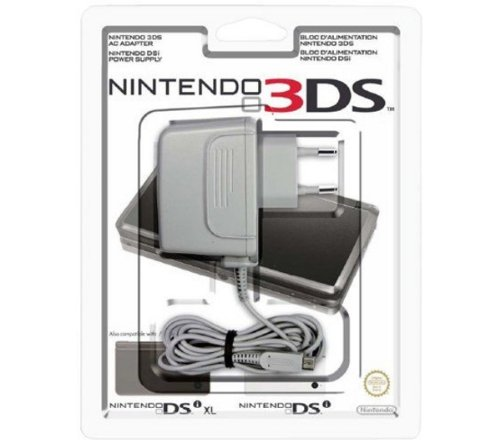 Nintendo 3DS XL - Adaptador de corriente 3DS, 3DS XL, 2DS, DSi
