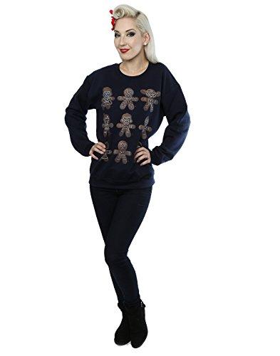 Star Wars Femme Christmas Gingerbread Sweat-Shirt Foncé
