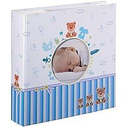 Hama Tim fotografía, álbum para Pegar Fotos, Azul y Blanco, 22,8 x 22,20 x 5cm