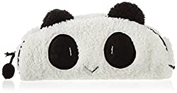 Wuiyepo 1Pcs nette Art Panda Soft-Federmäppchen Pen Pocket-Bag Kosmetik Make-up Bag