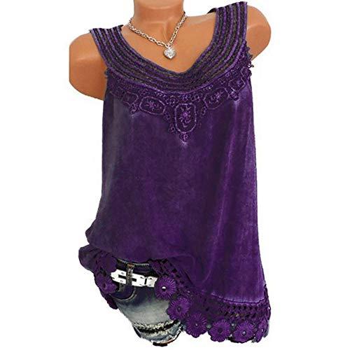 Rosa Festliche t Shirts Shirt Mit Ausschnitt Damen Shirt Dreiviertelarm Bluse Gestreift Damen Rot Frauen Oansatz ärmellose Reine Farbe Spitze Plus Größe Weste Tops lose T-Shirt Bluse