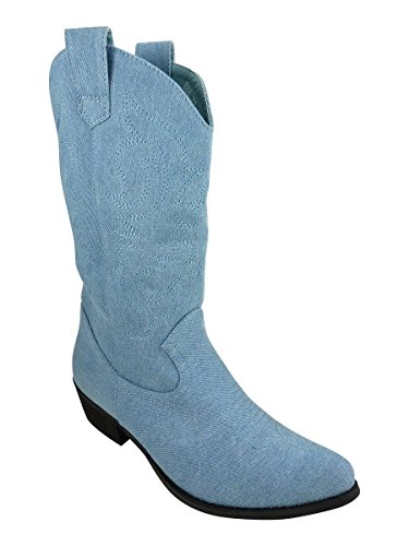 Santiag - Stivali da donna (- Hellblau)