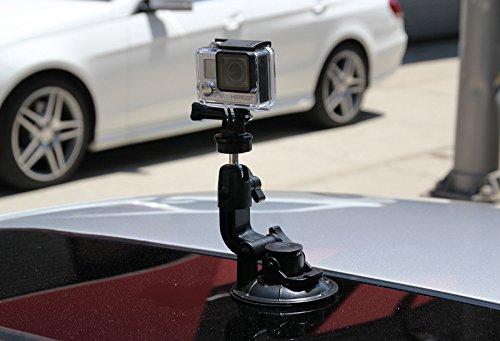 TomTom Bandit 4K HD Action Kamera + All You Need 32GB Zubehör Kit mit 32-GB-Karte + Case + Selfie Stick + Brust/Kopf Gurt + Auto/Fahrrad Halterung + Rucksack + Reise Ladegerät + mehr. - 4