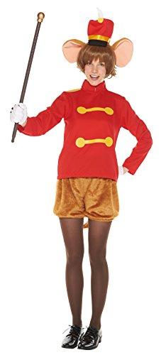 Disney Dumbo Kostüm - Disney Dumbo Timothy-Kostuem-Damen 155cm-165cm 95628