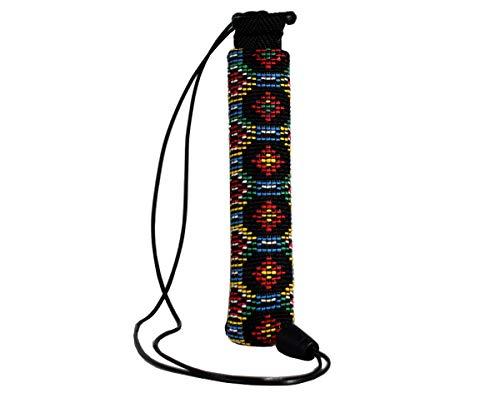 Plan B Funda Protectora vapeador Myblu Maya - 12,5 X 3,3 cm cordón de 100 cm Multicolor Hecha a Mano en España